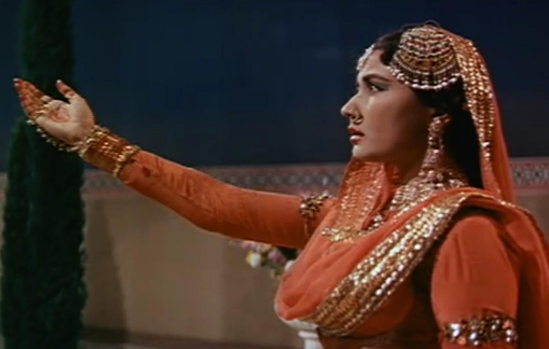 Pakeezah Meena Kumari Chalte Chalte
