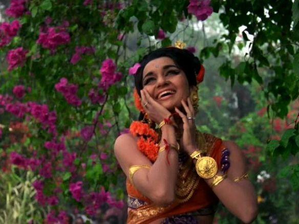 Asha Parekh Aaya Saawan Jhoom Ke