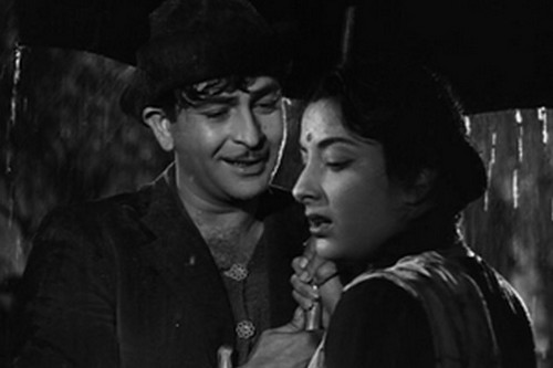 Shree 420 Raj Kapoor Nargis Pyar Hua Iqrar Hua Rain Song Bollywood