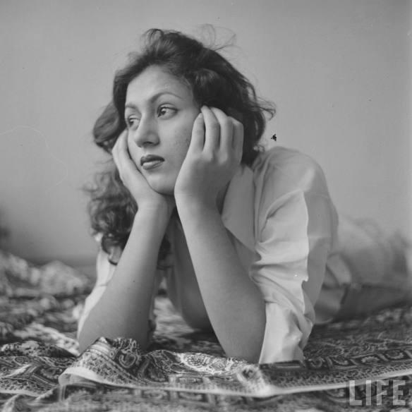 Rare beautiful photograph of Madhubala