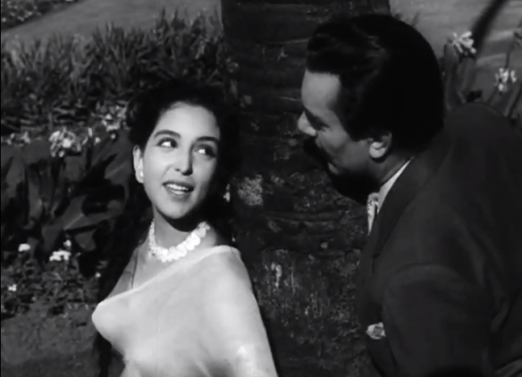 Leela Naidu experiences her first love with Balraj Sahni in Anuradha (1960)