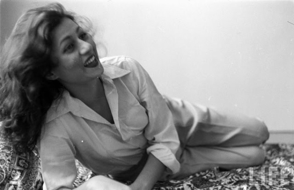 Beautiful madhubala in a personal photograph
