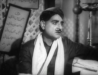 KL Saigal in Shahjehan 1946