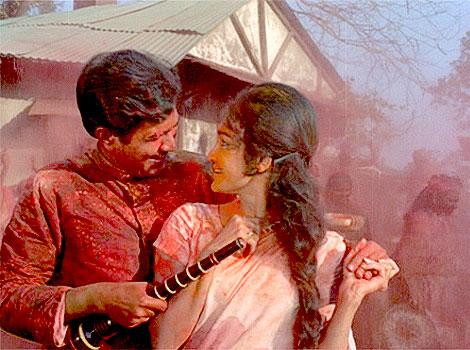 Rajesh Khanna asha parekh holi