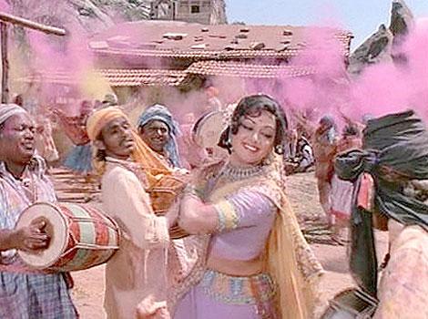 Hema Malini Sholay holi