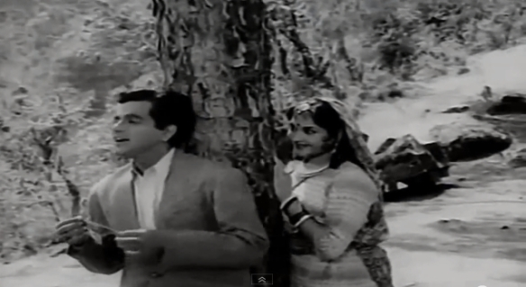 Dilip Kumar Vijayantimala dil tadap tadap ke tree