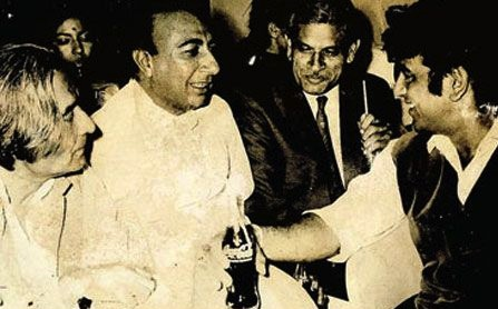 Jan Nisar Akhtar and Sahir Ludhianvi