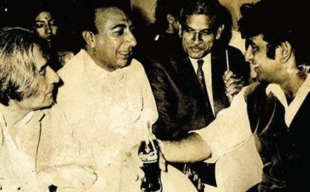 Jan Nisar Akhtar and Sahir Ludhianvi