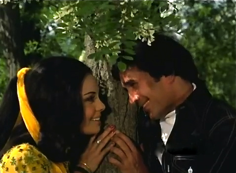 Rajesh Khanna tree Mumtaz Aap Ki Qasam