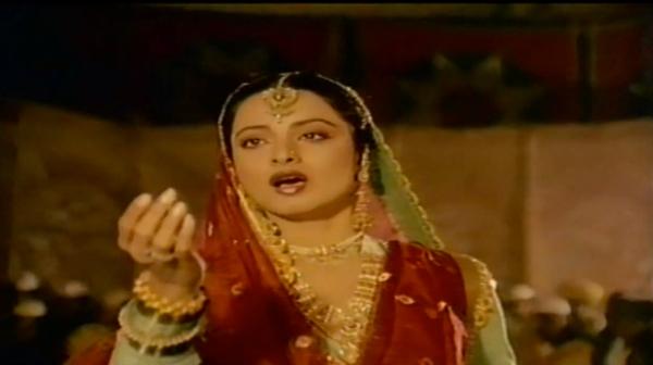 Rekha in Umrao jaan 1981