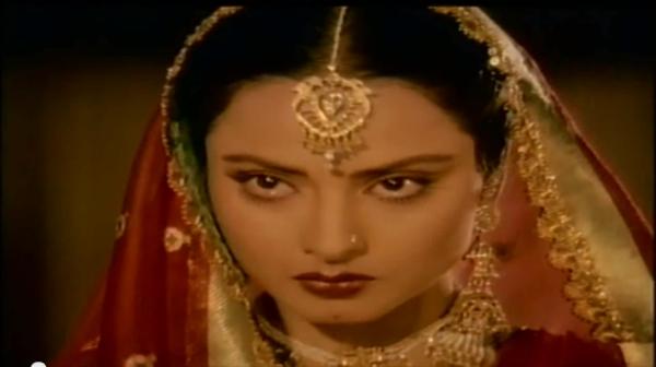 Rekha in Umrao Jaan Yeh Kya Jagah Hai Doston
