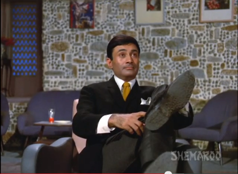 dev anand shoe jewel thief
