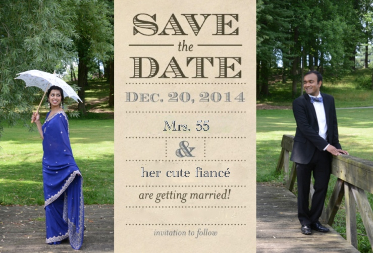 Old Classic Bollywood Save the Date!