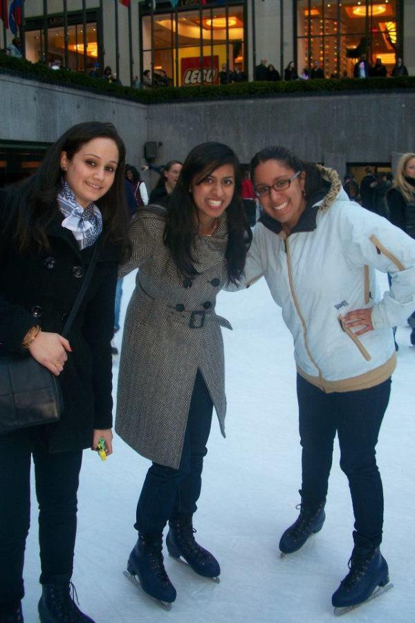 ice skatin grockefeller center