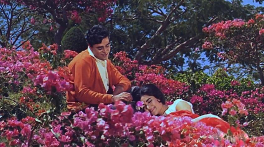 romance in the garden