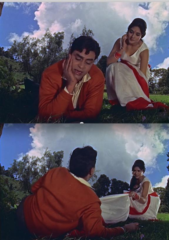 Yeh Mera Prem Patra sari tussle