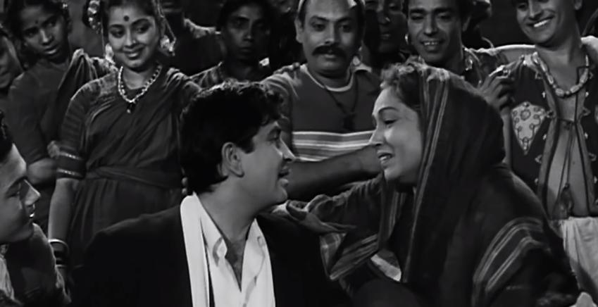 Lalita Pawar Raj Kapoor Shree420