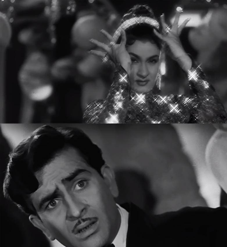 Raj Kapoor Nadira Shree 420