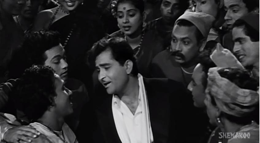 Raj Kapoor Ramaiya Vastavaiya Shree 420