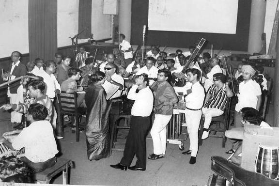 Madan Mohan recording studio orchestra