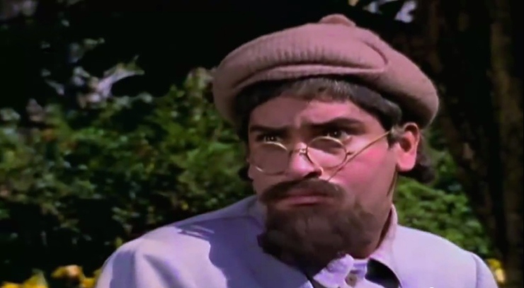 Shammi Kapoor Professor outfit glasses hat