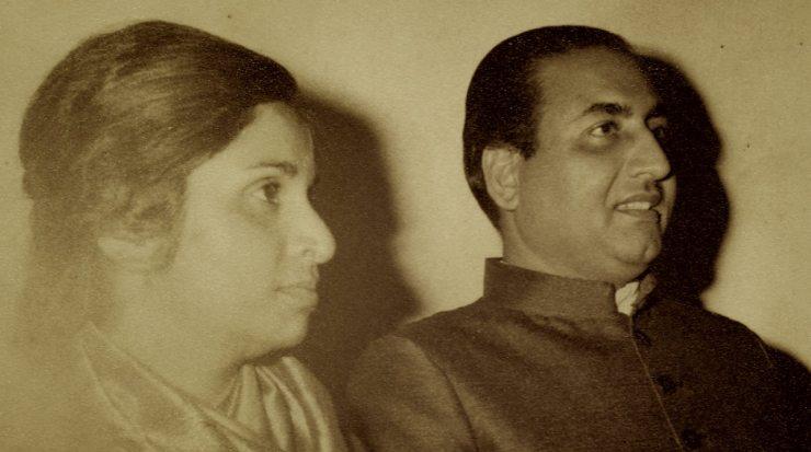 Minoo Purushottam and Mohammed Rafi