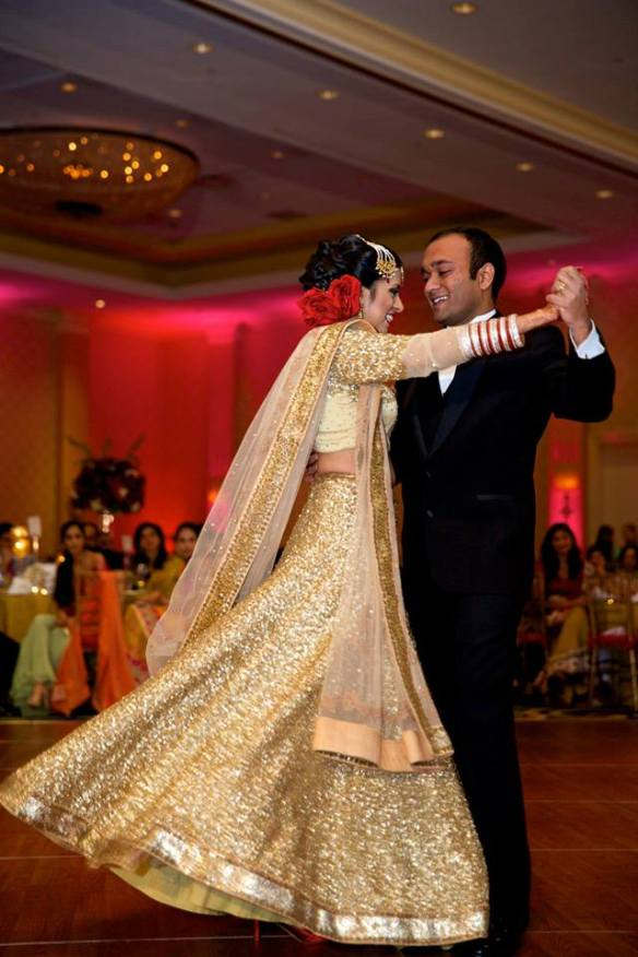 Bollywood wedding waltz