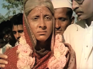 Final Shot from Mother India Nargis