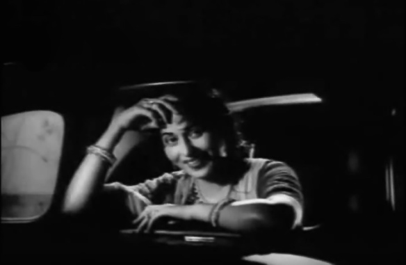 Madhubala car window Ek ladki bheegi bhagi si