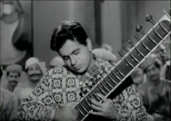 dilip-kumar-sitar-kohinoor-madhuban-mein