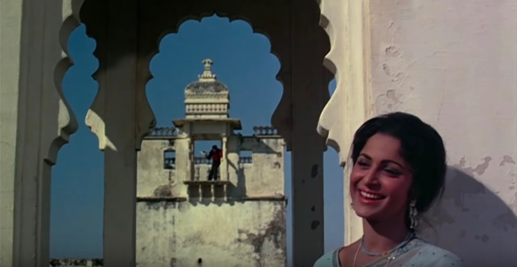 Waheeda Rehman Rani Padmini palace Rajasthan