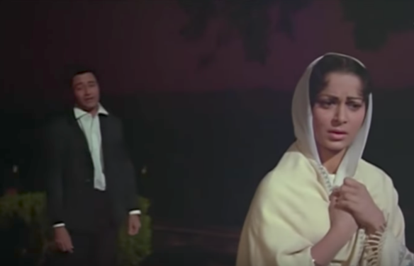 Waheeda Rehman ashamed crying Guide Tere Mere Sapne