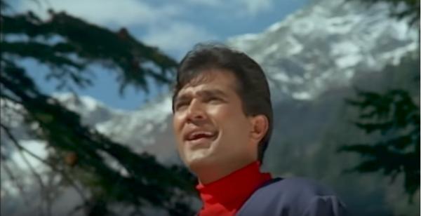 Rajesh Khanna Aradhana mountain echo