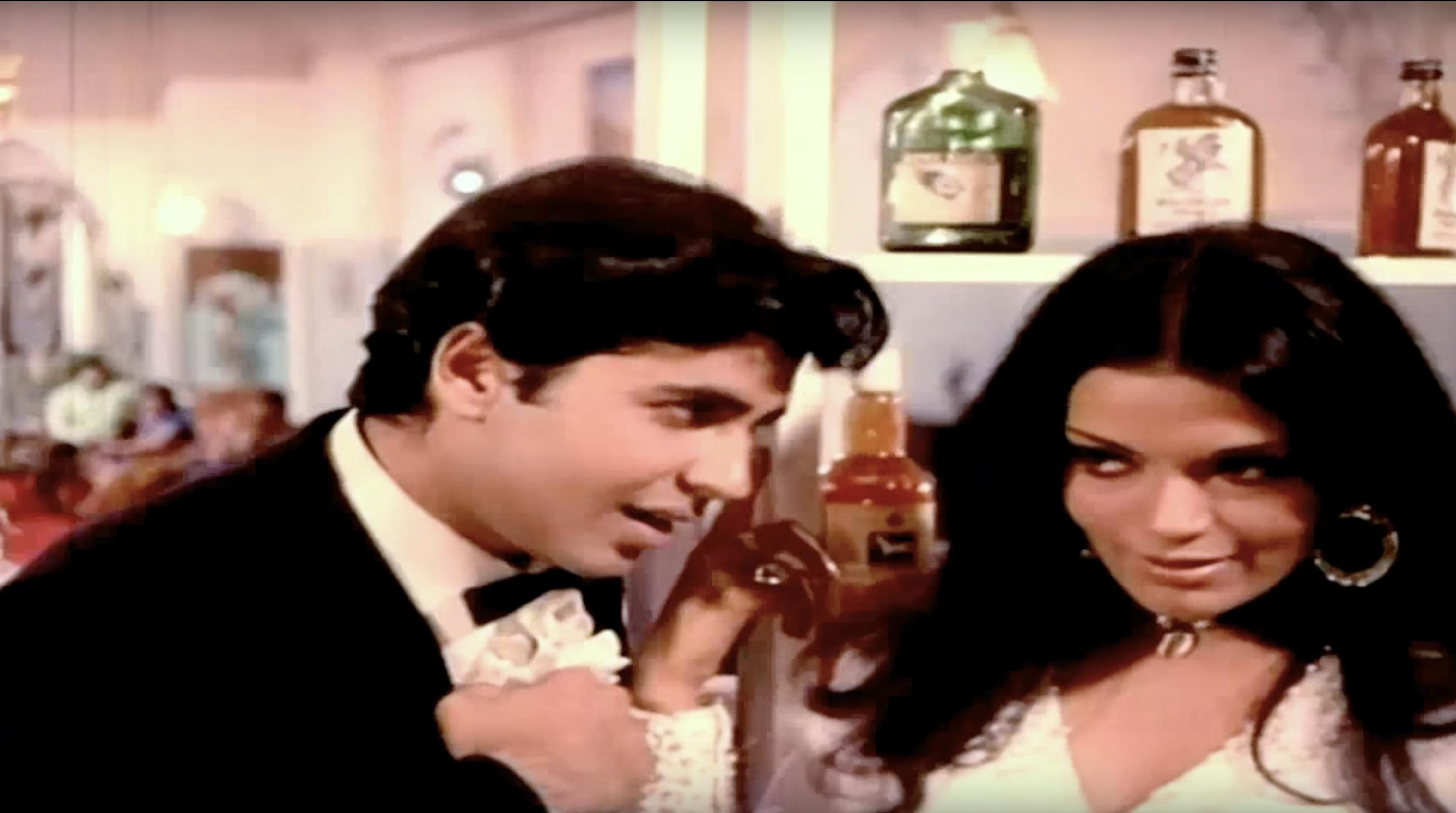 Vijay Arora and Zeenat Aman in Yaadon Ki Baarat.png