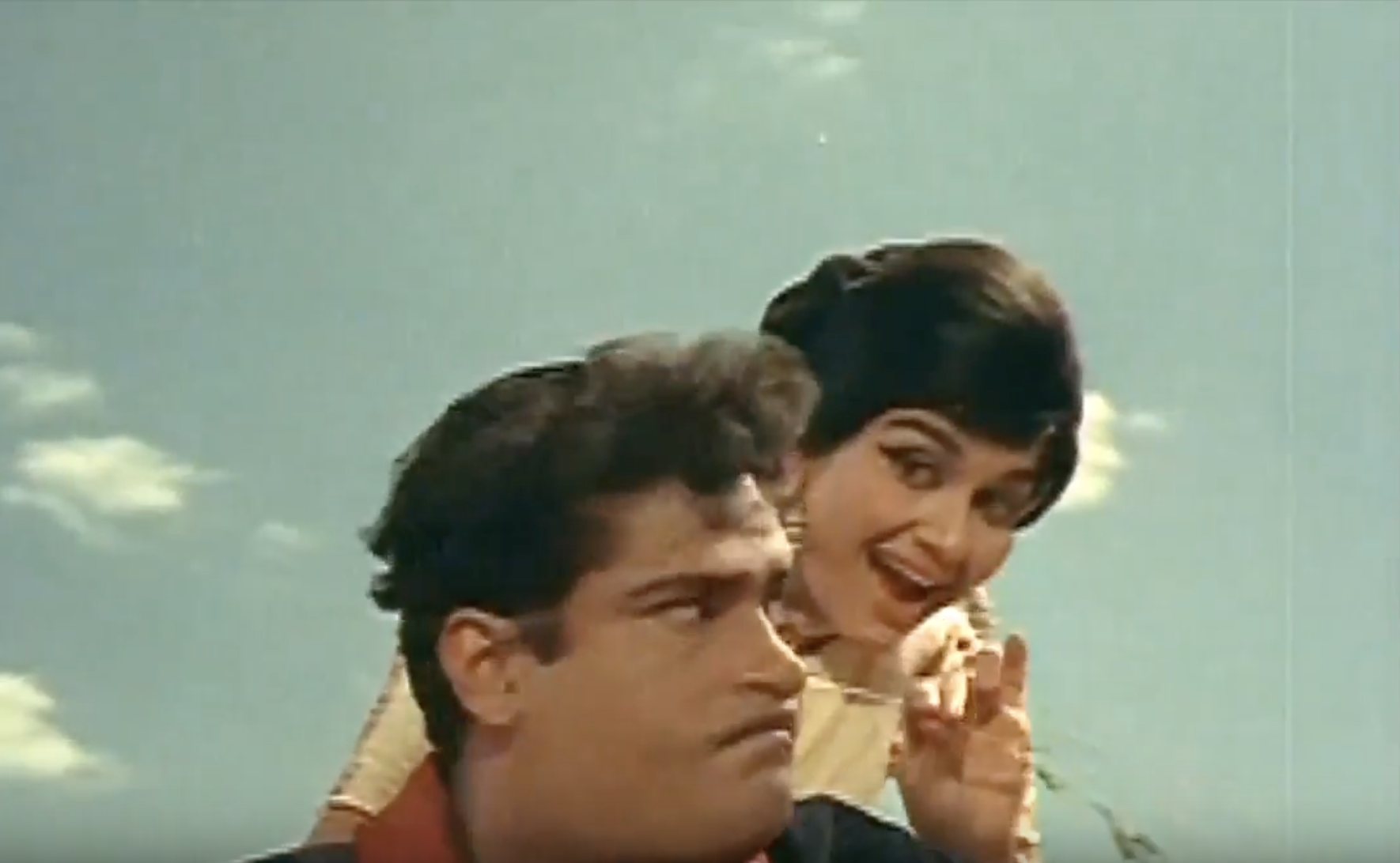 Shammi Kapoor Asha Parekh in O Mere Sona Re Teesri Manzil