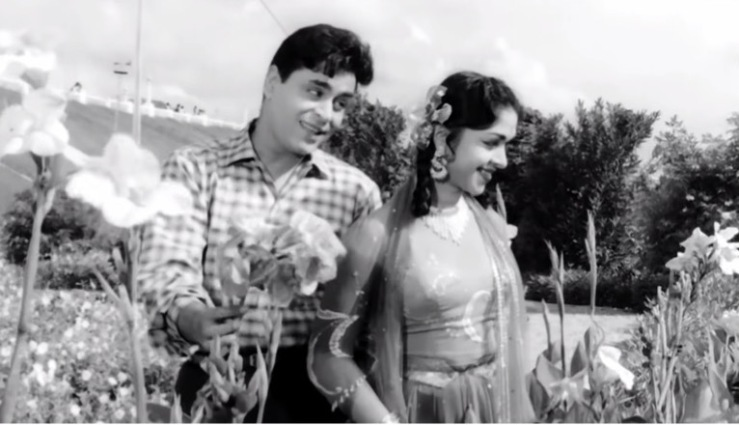 "Rajendra Kumar and Saroja Devi in ""Teri Pyari Pyari Surat"" from Sasural"