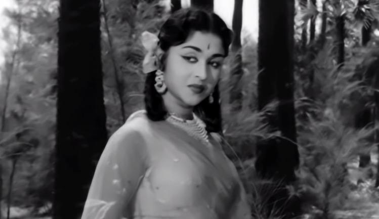 Saroja Devi in Sasural,