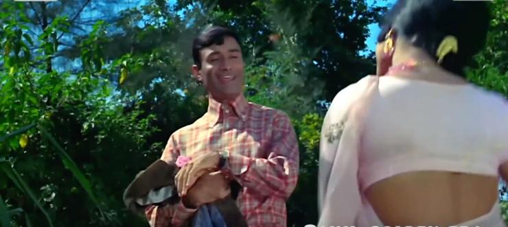 Playful Dev Anand Jewel Thief
